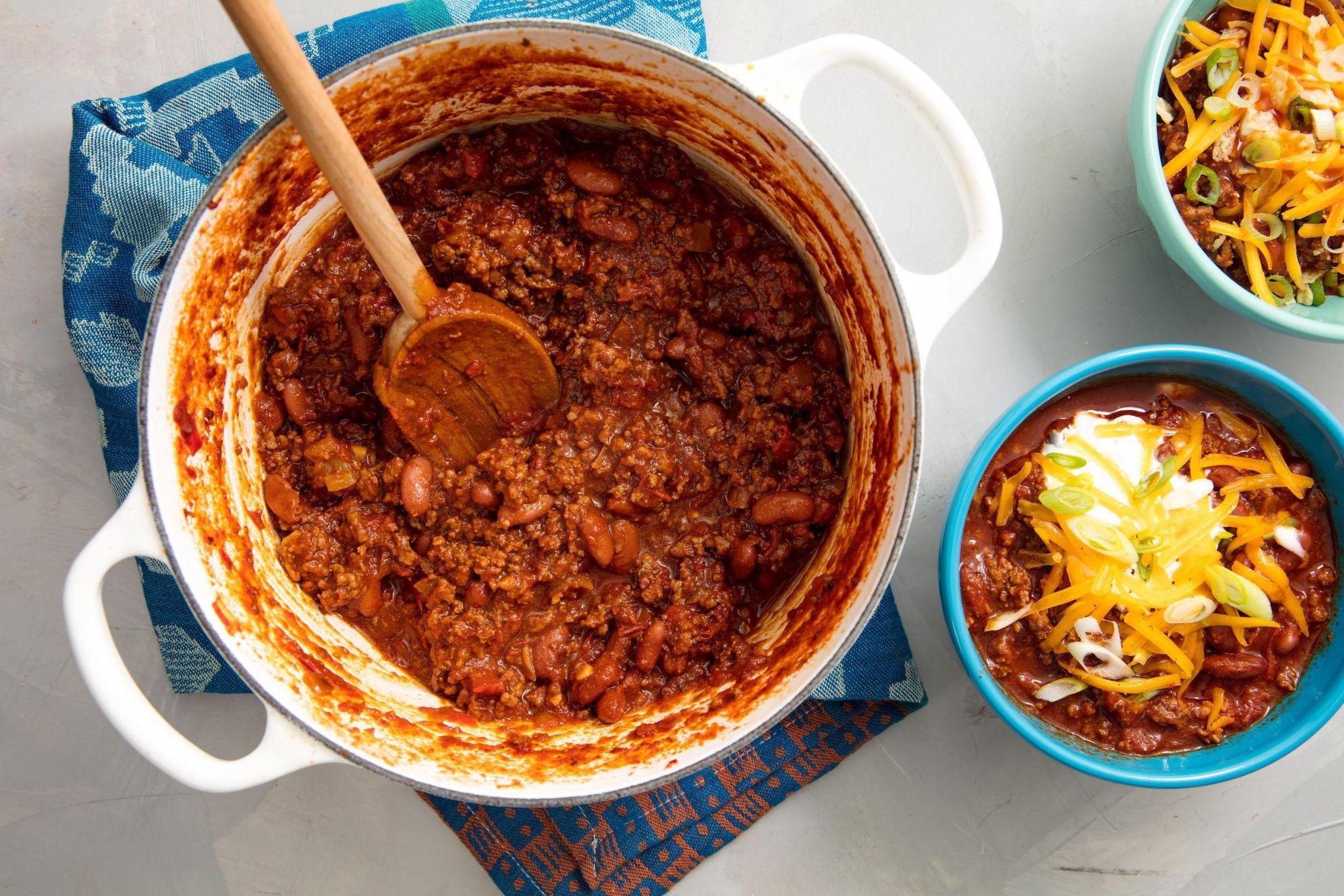 Chili Dinner Party Menu Ideas Part - 35: Delish.com