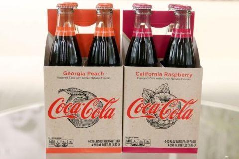 Coca Cola Now Comes In Georgia Peach And California Raspberry Flavors
