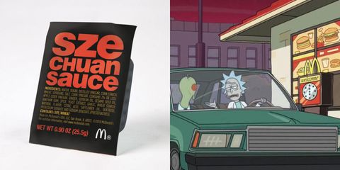 Mcdonald S Is Bringing Back Szechuan Sauce Again