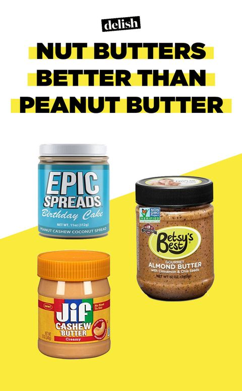 Nut Butters That Taste Even Better Than Peanut Butter
