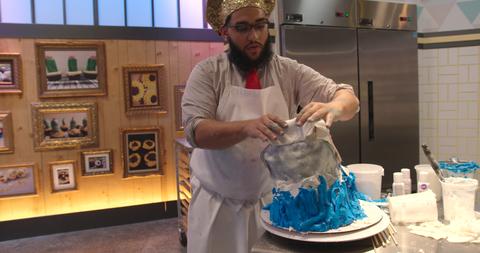 Cake decorating, Icing, Cake,