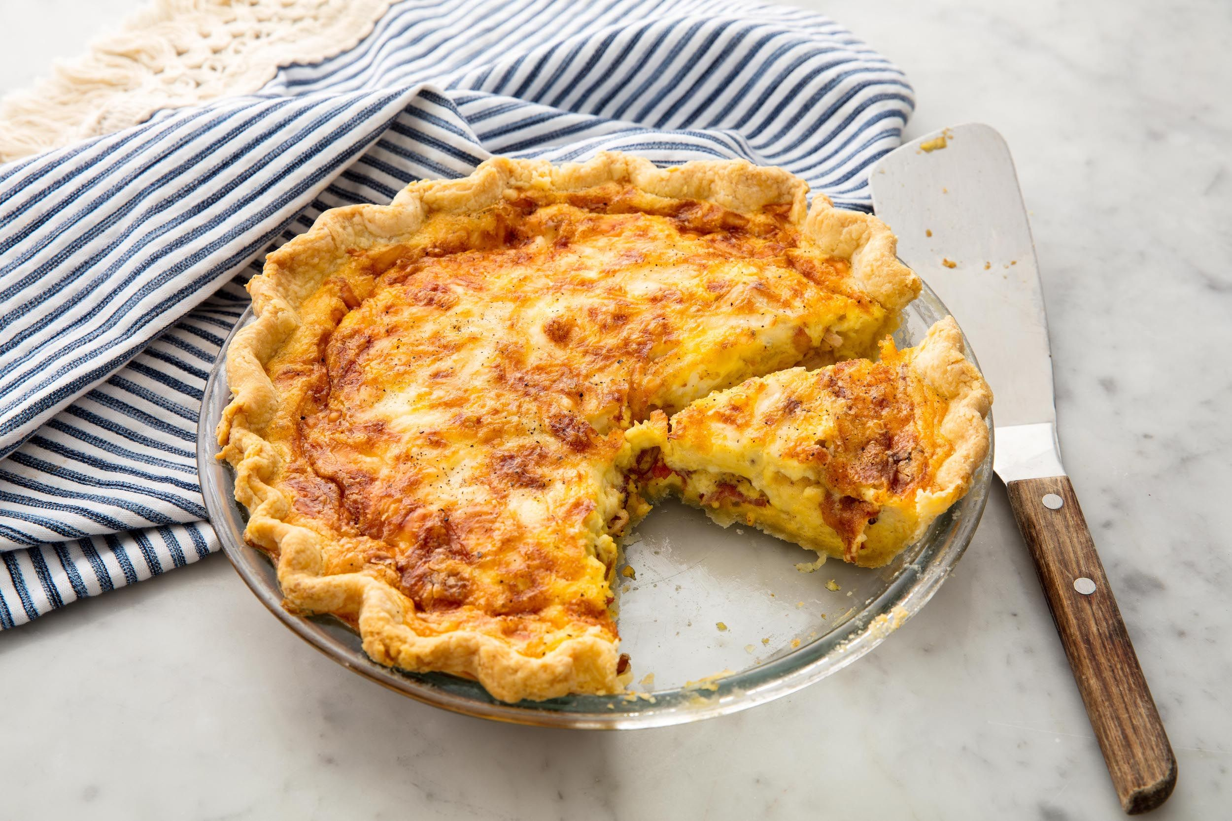 Can I make a quiche pie at home?