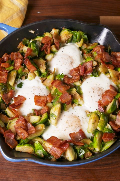 brussels sprout hash horizontal