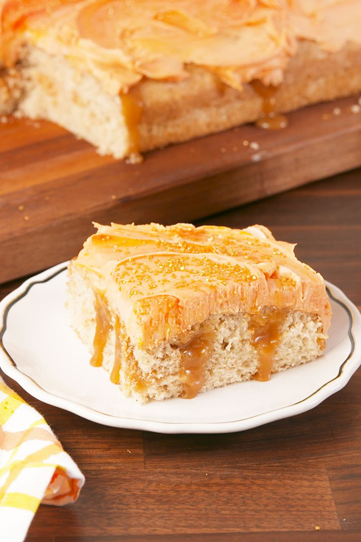 Fireball Poke Cake