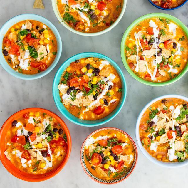 Nacho soup horizontal