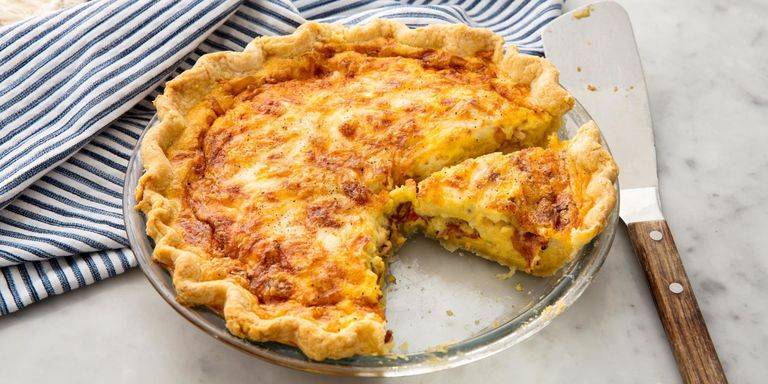 Easy breakfast quiche recipes how to make a quiche delish ethan calabrese forumfinder Gallery