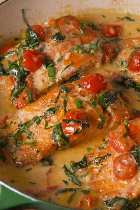 Best tuscan butter salmon recipe how to make tuscan butter salmon image forumfinder Images