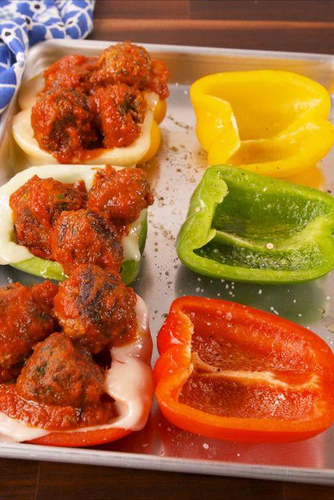 Bell Pepper Meatball Subs