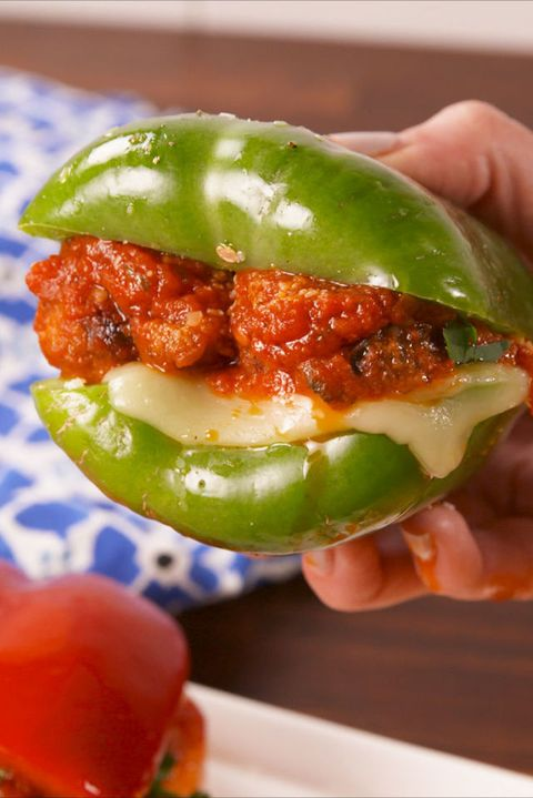 Bell Pepper Meatball Subs Vertical