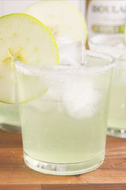 Sour Apple Margaritas Vertical