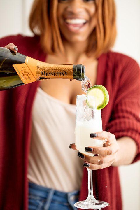 Champagne Margarita Vertical