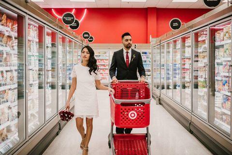 Red, Snapshot, Fashion, Wedding, Ceremony, Event, Marriage, Vehicle, Photography, Supermarket,