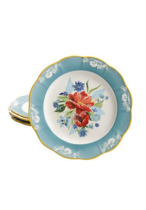 Dishware, Porcelain, Tableware, Dinnerware set, Plate, Serveware, Saucer, Platter, Teacup, Serving tray,