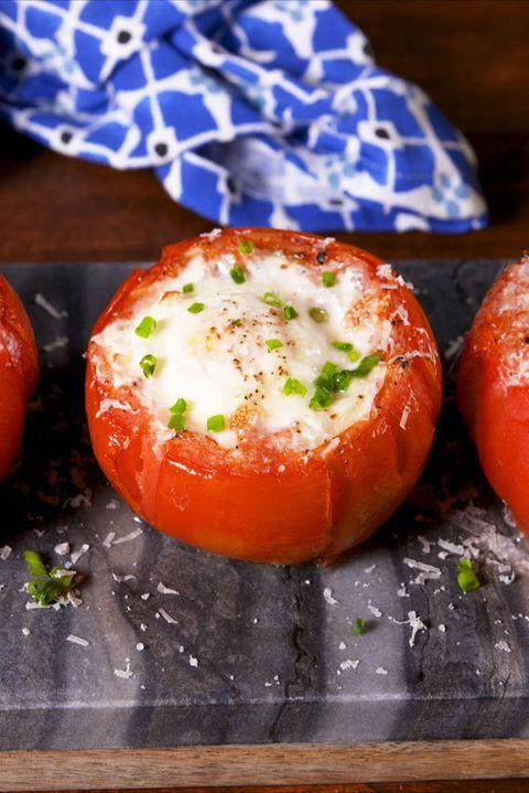 Breakfast Tomatoes Vertical