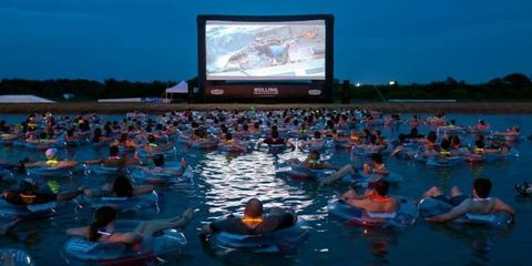 You Can Watch 'Jaws' While Floating In Open Water This Summer
