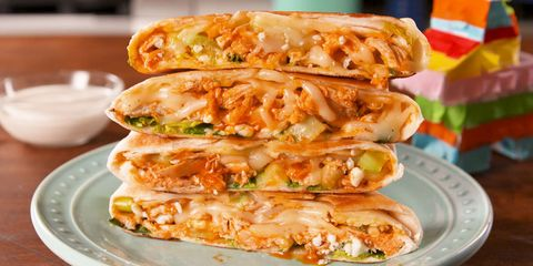 100 easy chicken breast recipes to try tonight how to cook buffalo chicken crunchwraps forumfinder Choice Image