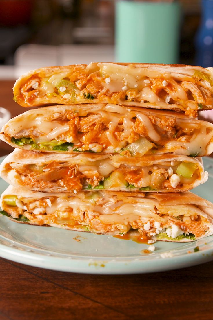 Best Buffalo Chicken Crunchwrap Recipe How To Make Buffalo Chicken Crunchwrap