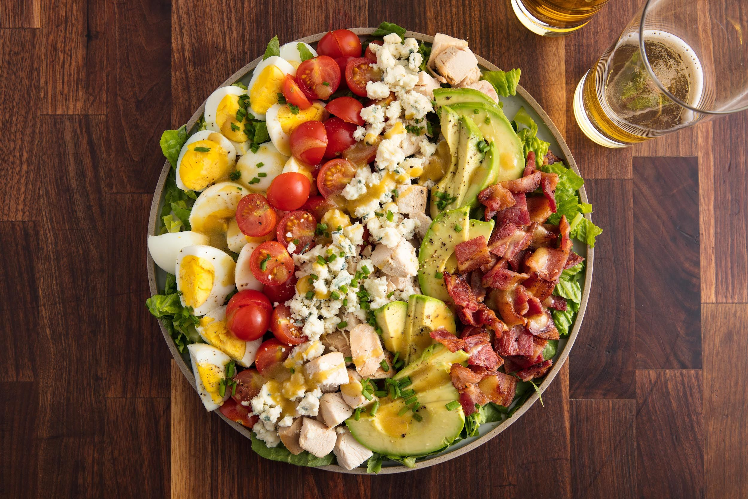 best cobb salad recipe how to make cobb salad