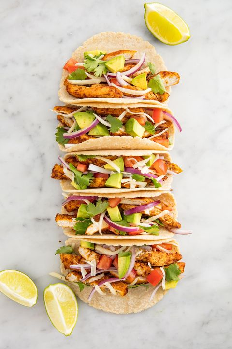 Chicken Tacos Vertical