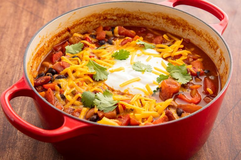 Easy vegetarian chili recipe how to make best vegetarian chili ethan calabrese forumfinder Choice Image