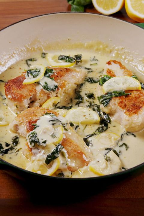 Creamy Lemon Parmesan Chicken Vertical