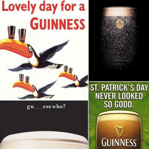 Forget clovers or kisses — St. Paddy's day just wouldn't be the same without Guinness. The Irish stout has been a longtime symbol of the celebration, and for good reason. No doubt part of that has to do with its clever, amusing, and memorable ads, many of which are just as famous as the brew itself. The company's major campaigns didn't kick off until the 1930s but have been going strong ever since. In honor of the holiday, we've rounded up some of our favorites. Take a look, and pick up a pint!