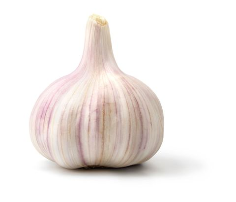 "<p>The <a href=""http://www.womansday.com/health-fitness/nutrition/benefits-of-garlic"" target=""_blank"">benefits of garlic</a> extend beyond boosting immunity and heart health. They can keep hot flashes at bay too. ""Hot flashes result when estrogen levels fluctuate and then drop,"" says J. Shah, MD, chief medical director at Amari, a medical spa in Scarsdale, NY. Since garlic contains phytoestrogens, a plant-based hormone that mimics your body's estrogen, eating some balances your hormones, preventing hot flashes. Have at least one clove per day, raw or cooked — although more doesn't hurt anything other than your breath!</p>"