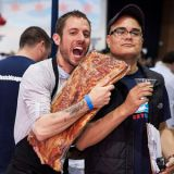 """<p>After more than 4,500 people voted at this year's <a href=""""http://baconfestchicago.com/"""" target=""""_blank"""">Nueske's Amateur Bacon Cook-Off</a>, Judith Singer won the prize for the best dish — a bacon cone filled with caramelized fig sorbet and fig and bacon jam. Singer and 32 other contests competed for the grand prize at Chicago's annual Baconfest, which is considered the Oscars of the cured product. But the recipe contest wasn't the only culinary competition at this bacon-centric extravaganza. Mixologists went head-to-head in the Bacon Cocktail Challenge to create the baconiest libation. The winner of the bar battle was Zach Piper for his Barded Blackbeard — fat-washed Black Grouse scotch, bacon tincture, homemade orange-blossom maple syrup, Angostoura bitters, and herbs. If you want to try to make it at home, you can follow this <a href=""""http://www.chicagoreader.com/Bleader/archives/2012/04/09/take-a-sip-the-fat-washed-barded-black-bird"""" target=""""_blank"""">recipe.</a>"""