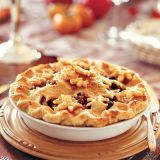 "<p>Mince pies have been enjoyed in England at Christmastime since the 13th century, according to <a href=""http://www.bbcamerica.com/anglophenia/2011/12/a-very-british-christmas-part-2-mince-pies/"" target=""_blank"">BBC America</a>. Fighters returning from the Crusades brought back new and exotic spices, like nutmeg and cinnamon, and British cooks used them in a variety of dishes, including pies filled with mincemeat and dried fruits. Their size and the type of fillings used have changed somewhat over time, but for many centuries now, mince pies have been a beloved Christmas treat.</p> <p>If you're looking to recreate a traditional English Christmas feast, or just want to try your hand at something new, test out our recipe for <a href=""/recipefinder/quince-mince-pie-3279""><b>Quince Mince Pie</b></a>.</p>"
