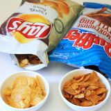 Compared to all other chips, pretzels, and popcorn, potato chips are the favorite Super Bowl snack: 11.2 million pounds of potato chips were consumed in 2011.