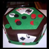 <p>Bradford, MA, United States</p> <p>Brother-In-Law's Groom's Cake; 100-percent edible (including cards and coins).</p>