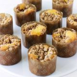 "<p>These cute, fruity baked treats are a hybrid between a traditional muffin and a coffee cake. The individually sized sweets make a great grab-and-go breakfast, but also make an elegant addition to an afternoon cup of coffee or tea, or can even be served as a bite-sized dessert.</p><p><b>Recipe: <a href=""/recipefinder/jam-filled-coffee-cake-muffins-recipe-mslo0113"">Jam-Filled Coffee Cake Muffins</a></b></p>"