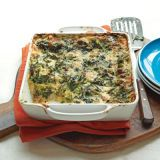 "<p>Spinach and broccoli stud alternating layers of creamy garlic sauce and a three-cheese spread for a family dinner that will satisfy cravings while sneaking in the vitamins.</p> <p><strong>Recipe: <a href=""http://www.delish.com/recipefinder/creamy-spinach-broccoli-lasagna-recipe-wdy0113"" target=""_blank"">Creamy Spinach and Broccoli Lasagna</a></strong></p>"