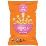"<p>Kettle corn is typically a super sweet (sometimes even overly sugary) indulgence. This kettle corn, however, gets a serious culinary boost from the heady blend of paprika, cumin, and fiery cayenne pepper.</p> <p><a href=""http://angiespopcorn.com/"" target=""_blank"">angiespopcorn.com</a></p>"