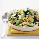 "<p>This beautiful pasta is flecked with fresh vegetables and herbs in every shade of green — a perfect dish to celebrate spring.</p><br />  <p><b>Recipe: <a href=""/recipefinder/pasta-verde-recipe-mslo0312"">Pasta Verde</a></b></p>"