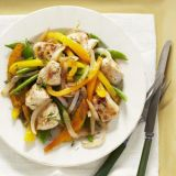 Chicken Dill Saute with Seasonal Veggies