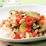 Summer Squash and White Bean Sauté