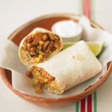 "<p>Stock your freezer with these healthy single-serving dinners (or hearty lunches). These vegetarian burritos reheat well in the microwave, making them A-OK for a workplace kitchenette.</p><p><b>Recipe:</b> <a href=""http://www.delish.com/recipefinder/bean-burritos-recipe-mslo0111"" target=""_blank""><b>Bean Burritos</b></a></p>"