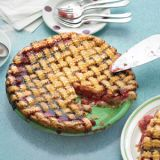 "<p>The perfect combination of tart and sweet, this familiar dessert, crowned with an old-fashioned lattice crust, evokes an era when every afternoon included pie and coffee.</p> <p><strong>Recipe:</strong> <a href=""http://www.delish.com/recipefinder/sour-cherry-pie-recipe-mslo0611"" target=""_blank""><strong>Sour Cherry Pie</strong></a></p>"