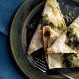 "<p>Bill Telepan's fresh free-form ravioli are filled with broccoli and cheese, then boiled and baked until crisp at the edges.</p> <p><b>Recipe: </b><a href=""/recipefinder/baked-broccoli-ravioli-recipe-fw0212"" target=""_blank""><b>Baked Broccoli Ravioli</b></a></p>"