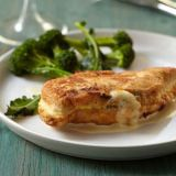 "<p>For her lovely riff on classic chicken cordon bleu, Marcia Kiesel replaces the heavy ham-and-Swiss-cheese filling with creamy havarti and thyme.</p><p><b>Recipe: </b><a href=""/recipefinder/cheese-stuffed-chicken-cutlets-mustard-sauce-recipe-fw0811"" target=""_blank""><b>Cheese-Stuffed Chicken Cutlets with Mustard Sauce</b></a></p>"