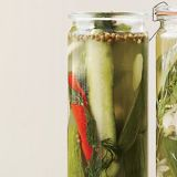 "Pickling isn't just for cucumbers. Homemade pickled spring vegetables, like asparagus and green beans, make a refreshing sandwich side dish or snack. Adding chiles to the brine gives it a spicy flavor.<br /><br /><b>Recipe: <a href=""/recipefinder/spicy-dill-quick-pickles-recipe"" target=""_blank"">Spicy Dill Quick Pickles</a></b>"