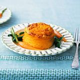 "<p>You can make the souffles a day ahead and refrigerate them, covered, in the ramekins. The next day, you simply pop it in the oven for a delicious and impressive meal.</p> <p><strong>Recipe: <a href=""http://www.delish.com/recipefinder/carrot-pudding-souffles-spring-vegetables-recipe-mslo0811"" target=""_blank"">Carrot Pudding Souffles with Buttered Spring Vegetables</a></strong></p>"