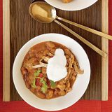 "<p>When preparing this memorable fix-and-forget chicken stew, use high-quality salsa to save time without skimping on flavor.</p><br /><p><b>Recipe:</b> <a href=""/recipefinder/slow-cooked-tex-mex-chicken-beans-recipe"" target=""_blank""><b>Slow-Cooked Tex-Mex Chicken and Beans</b></a></p>"
