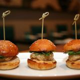 "<p>A humble roadside burger chainlet founded in the 1940s, <b>Telway</b> sells mini-burgers topped with grilled onions for just $1. <i>820 Michigan Ave.; 313-843-2146</i></p><br />  <p>At <b>Saltwater</b> in Detroit's MGM Grand Casino, celebrity chef Michael Mina serves a twist on the Vietnamese street sandwich: A baby bánh mì of breaded sea bass, pickled veggies, and cilantro on a tiny bun (pictured). <i><a href=""http://www.mgmgranddetroit.com/restaurants/saltwater.aspx"" target=""_blank"">mgmgranddetroit.com</a></i></p>"