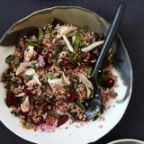 "<p>Filmmaker and chef Daniel Klein created this colorful smoked-fish and whole-grain salad after fishing for gray mullet for an episode of his web series, ""The Perennial Plate."" Instead of smoked mullet, the smoked trout here is easier to find and equally delicious. </p>