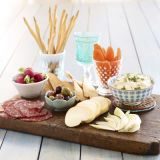 Detta bountiful platter makes an easy and fast party appetizer. Check out this easy appetizer recipe.
