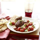 "<p>Cooking (and cleanup) doesn't get any more carefree than this Mediterranean-style meal: Sauté cumin-spiced ground chuck, then use the same pot to flash-fry onions and oregano-dusted tomatoes. To serve, sprinkle with salty-tangy feta.</p><br /> <p><b>Recipe: </b><a href=""/recipefinder/spiced-meatballs-saucy-tomatoes-recipe-ghk0910"" target=""_blank""><b>Spiced Meatballs with Saucy Tomatoes</b></a></p>"