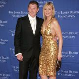 "<p>Food Network's Bobby Flay and sexy <i>Sex and the City</i> star Kim Cattrall, co-presenters for June's James Beard Foundation Awards at New York City's Lincoln Center, got a little saucy. In front of a packed house, Cattrall asked a blushing Bobby Flay, ""What's sexier than food?"" A rhetorical question, to which she replied, ""Maybe what's sexier are the chefs who are always cooking up something new and exciting."" Then the svelte actress challenged the <i>Throwdown</i> host to a duel, to which he coyly responded yes, saying he'd ""be gentle."" Wowza!</p>"