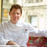 "<p>When you think of grilling, you think of Bobby Flay. Food Network's famous grill master and owner of five restaurants across the U.S. and the Bahamas (plus the just-opened <a href=""http://www.bobbysburgerpalace.com""/target=""_new""> Bobby's Burger Palace</a> in Long Island, N.Y.) actually got his start away from the smoke and fire. As a 17-year-old high school dropout, Flay worked the salad station at New York's <a href=""http://www.joeallenrestaurant.com/Joe_Allen_welcome.html""target=""_new"">Joe Allen Restaurant</a>, where his father was a partner. While not the haute-est of cuisine prep, Flay's salad-making skills impressed the management enough to have Joe Allen himself pay for his tuition to the prestigious French Culinary Institute.</p><br /> 